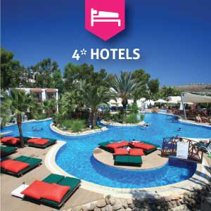 4* Hotels in Bodrum